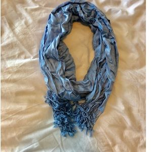 Charming Charlie's Baby Blue Scarf